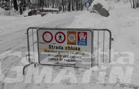 Courmayeur: chiuse le strade per Entrèves e per la Val Ferret per pericolo valanghe