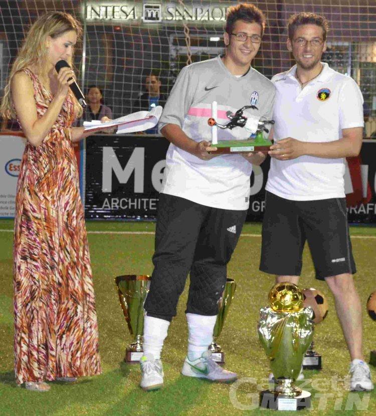 Calcio a 5: il Ristorante Moderno vince il Trofeo Città di Aosta