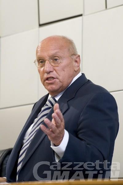 Si è dimesso il presidente del Consiglio regionale, Alberto Cerise