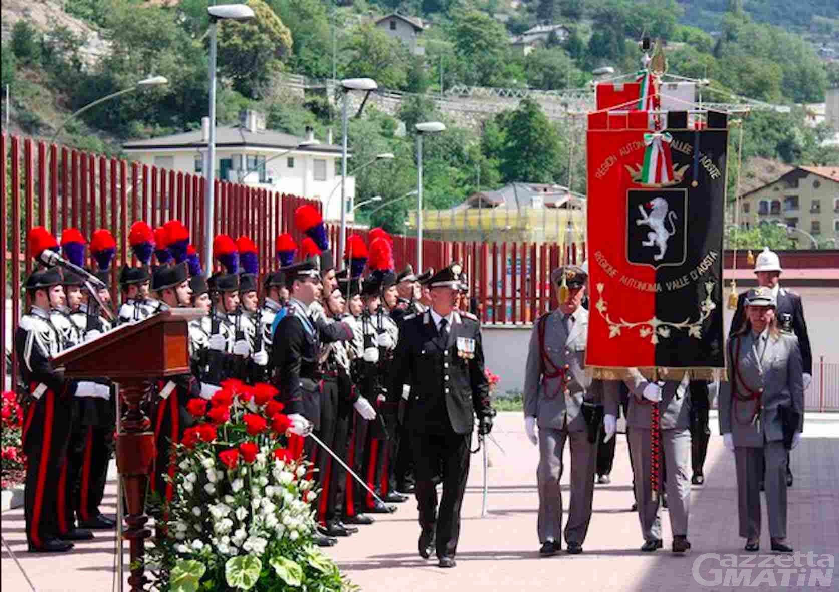 Forze Armate e Unità Nazionale: porte aperte alla caserma dei Carabinieri di Aosta