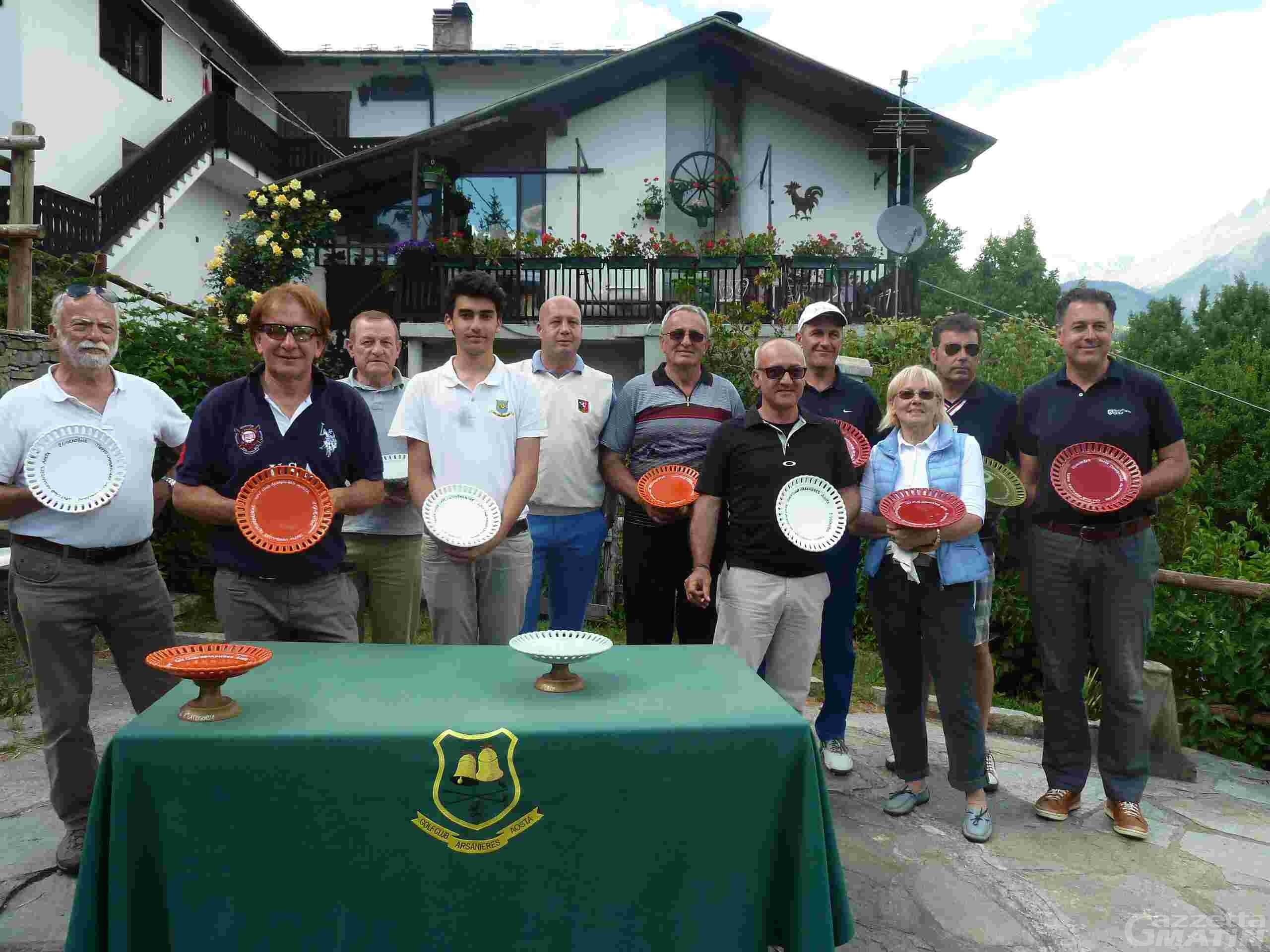 Golf: Michel Bal dà spettacolo all'Arsanières