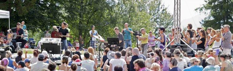 Musica, in duemila per Grignani a Coumarial