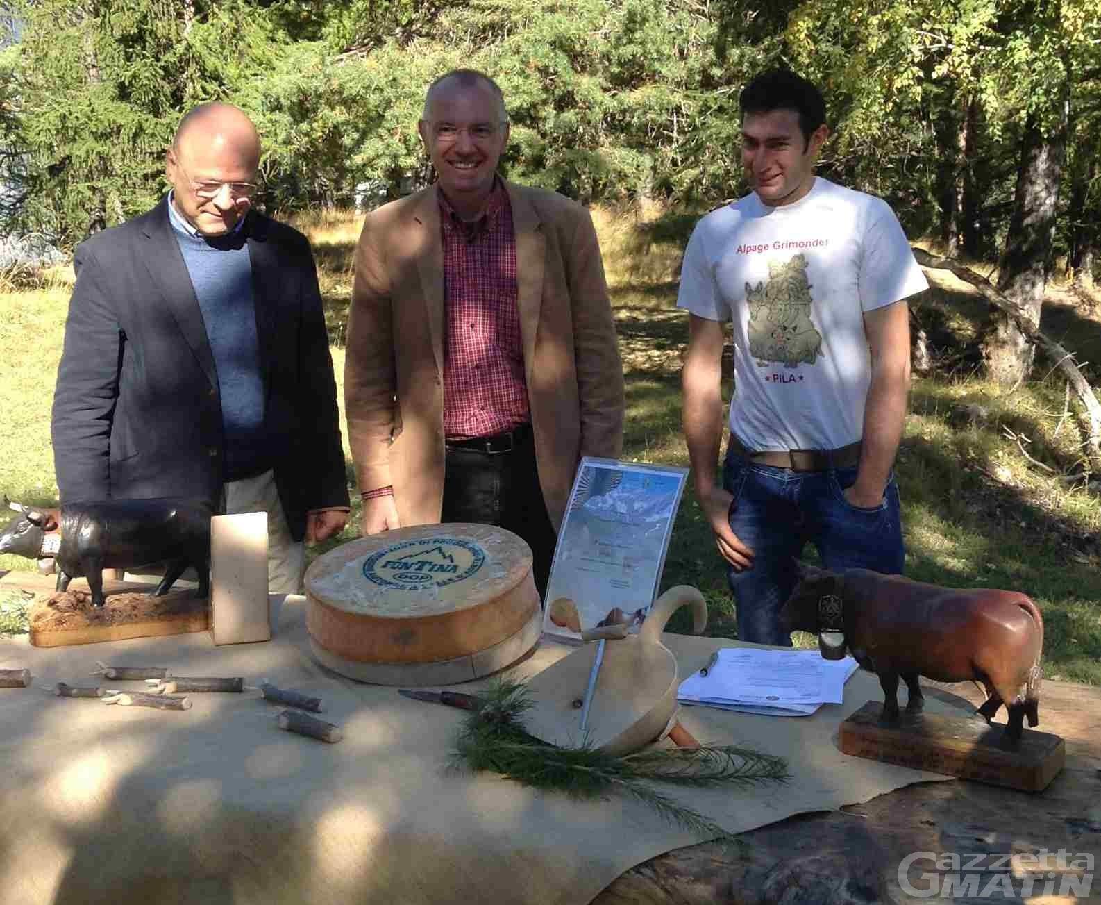 Agroalimentare: scelte le magnifiche 10 fontine d'alpeggio