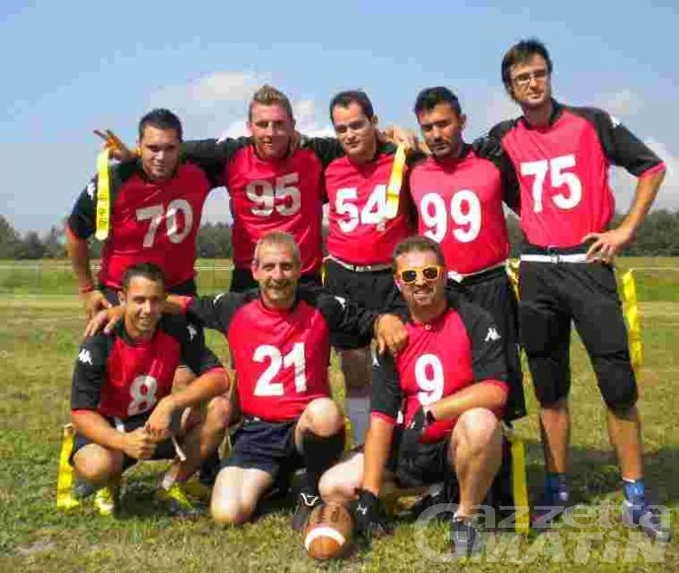 Football: i Vikingar beffati allo scadere dai Razorblacks