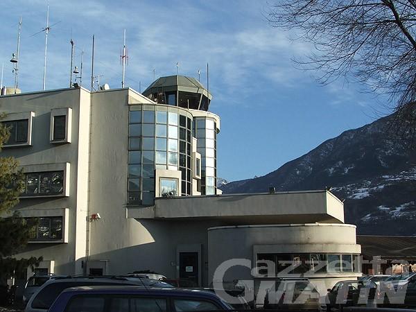 A giugno un incontro per l'attivazione dei voli Aosta-Roma