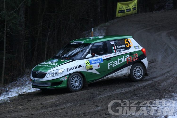 Rally: Chentre-D'Hérin bene sulla neve austriaca