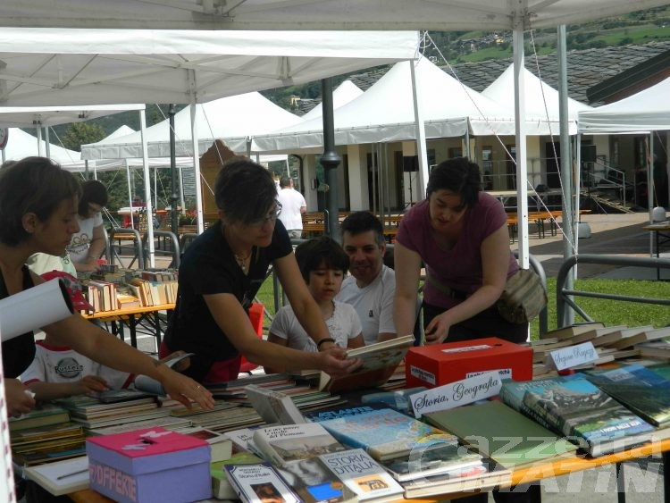 Brissogne, mercatino del libro per beneficenza