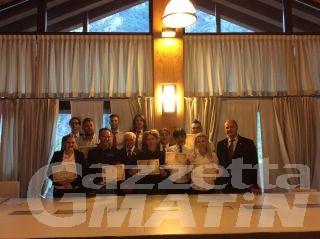 Barmen professionisti, sette valdostani diplomati