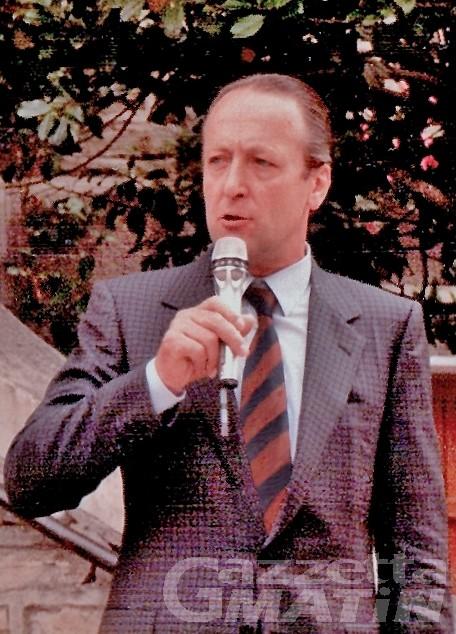 Courmayeur piange l'ex sindaco Renzo Truchet