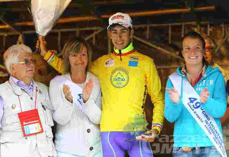 Ciclismo: Aru concede il bis al Giro della Valle d'Aosta