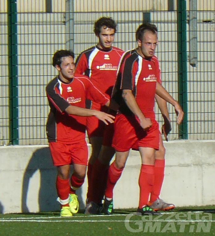 Calcio: St-Chri VdA corsaro, solo un pari per l'Aygre