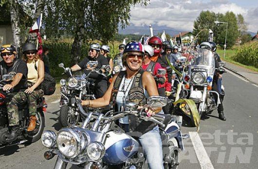 Aosta: Meno due all'invasione delle Harley Davidson