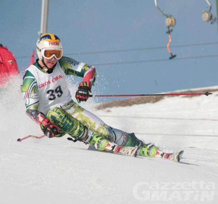 Sci alpino: Vietti a 1/100 dal bronzo tricolore in gigante