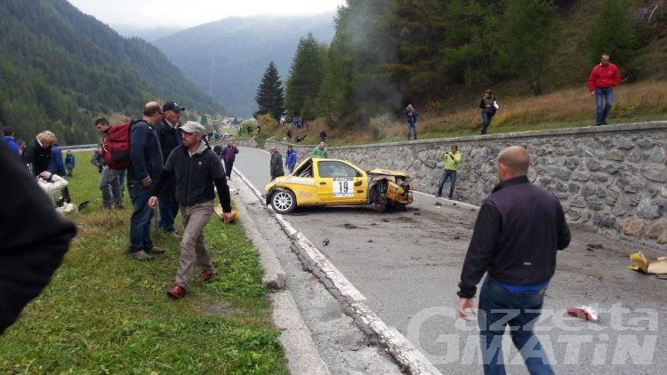 Grave incidente al Jolly Rally, l'equipaggio Scavone-D'Hérin finisce in ospedale