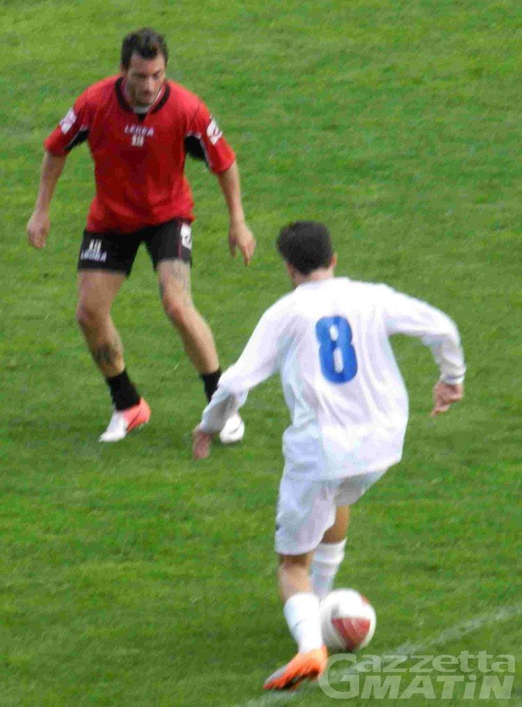 Calcio: il VdA segna due gol ai Free Players