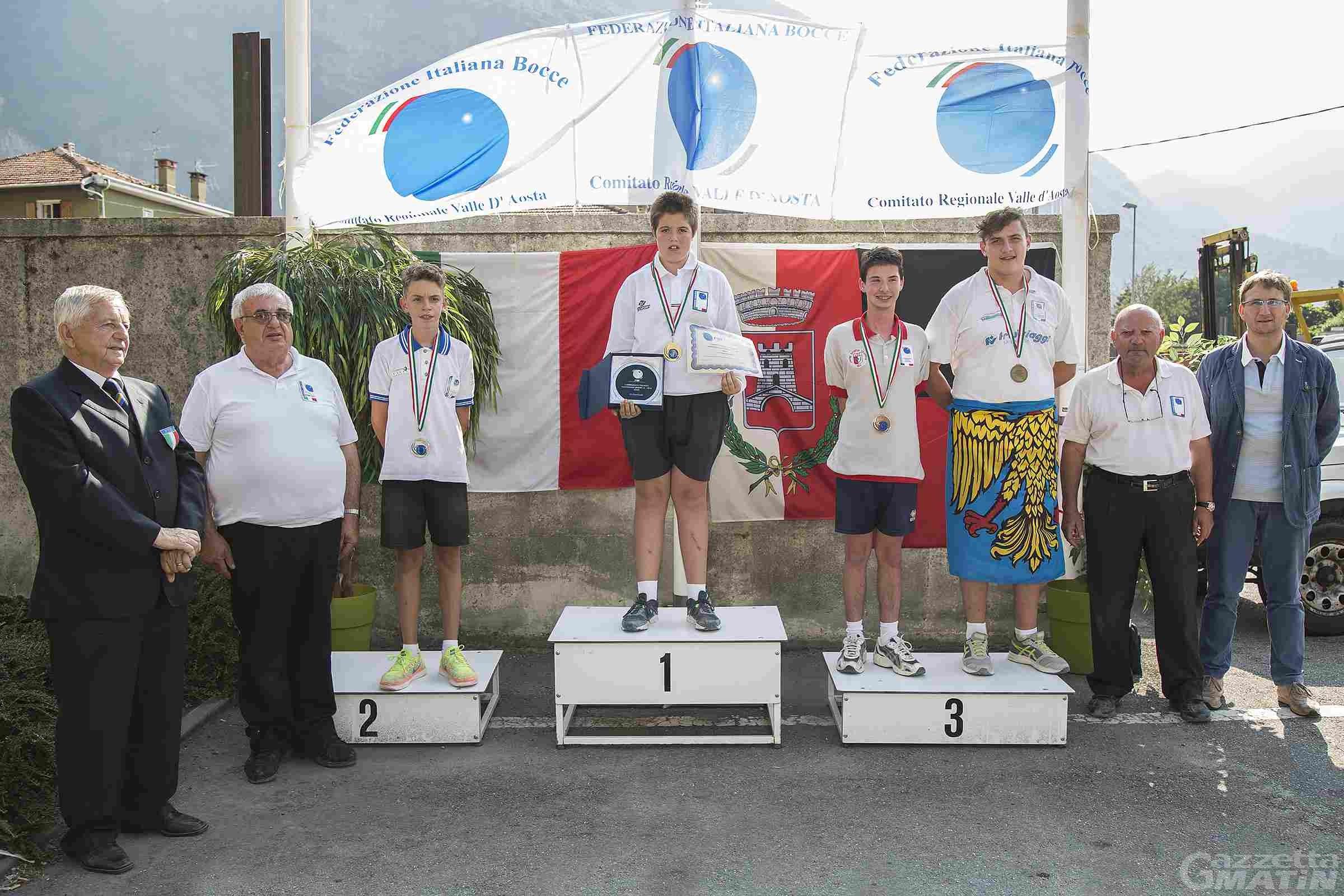 Bocce: Macario campione italiano individuale Under 15