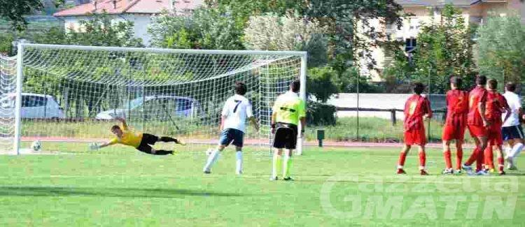 Calcio: il VdA conquista un punto a Bellaria