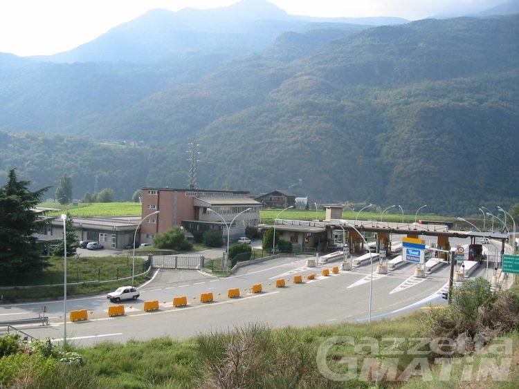 Autostrada, Marguerettaz: prezzi già agevolati per i valdostani