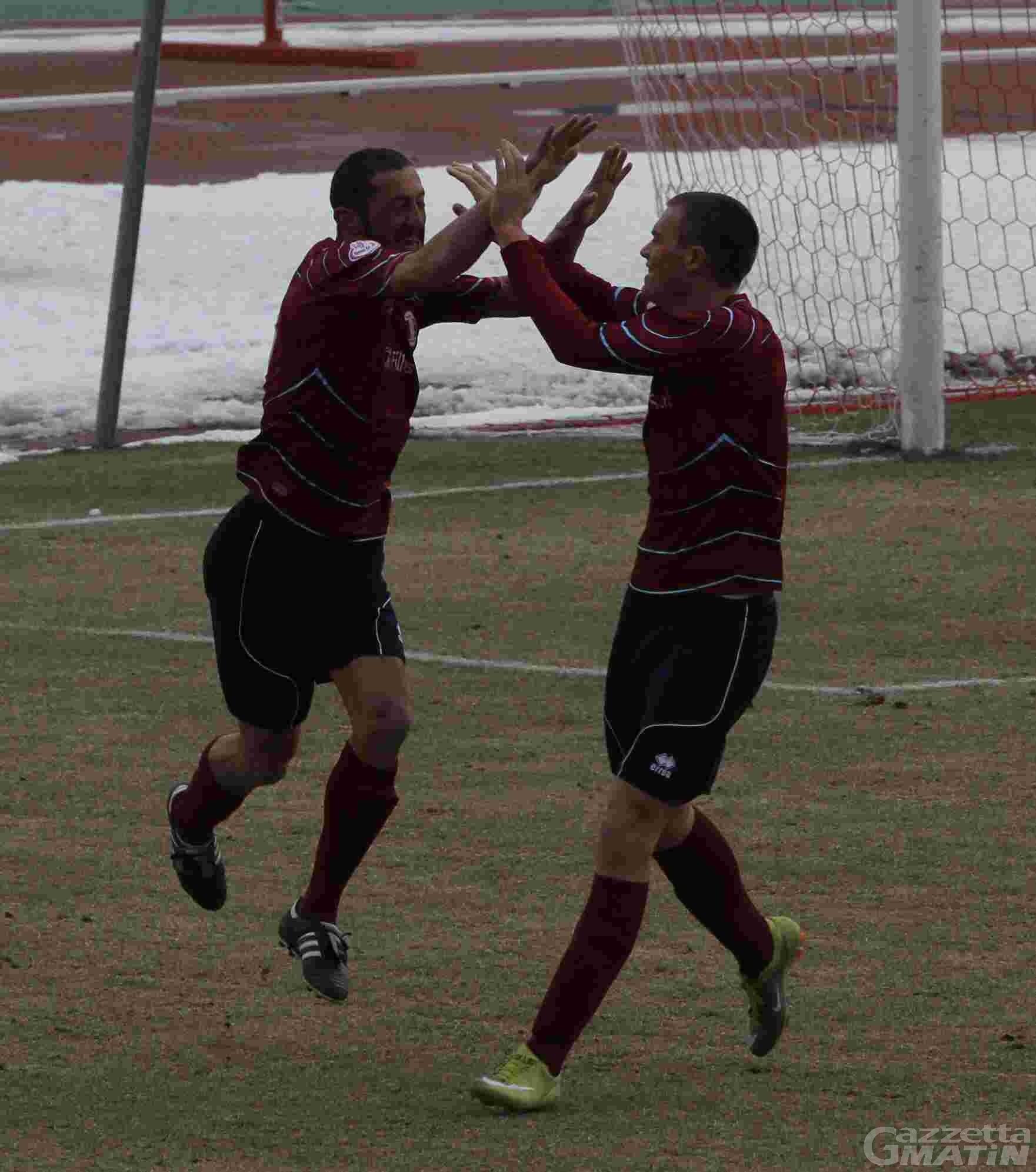 Calcio: decima vittoria consecutiva del St-Chri VdA