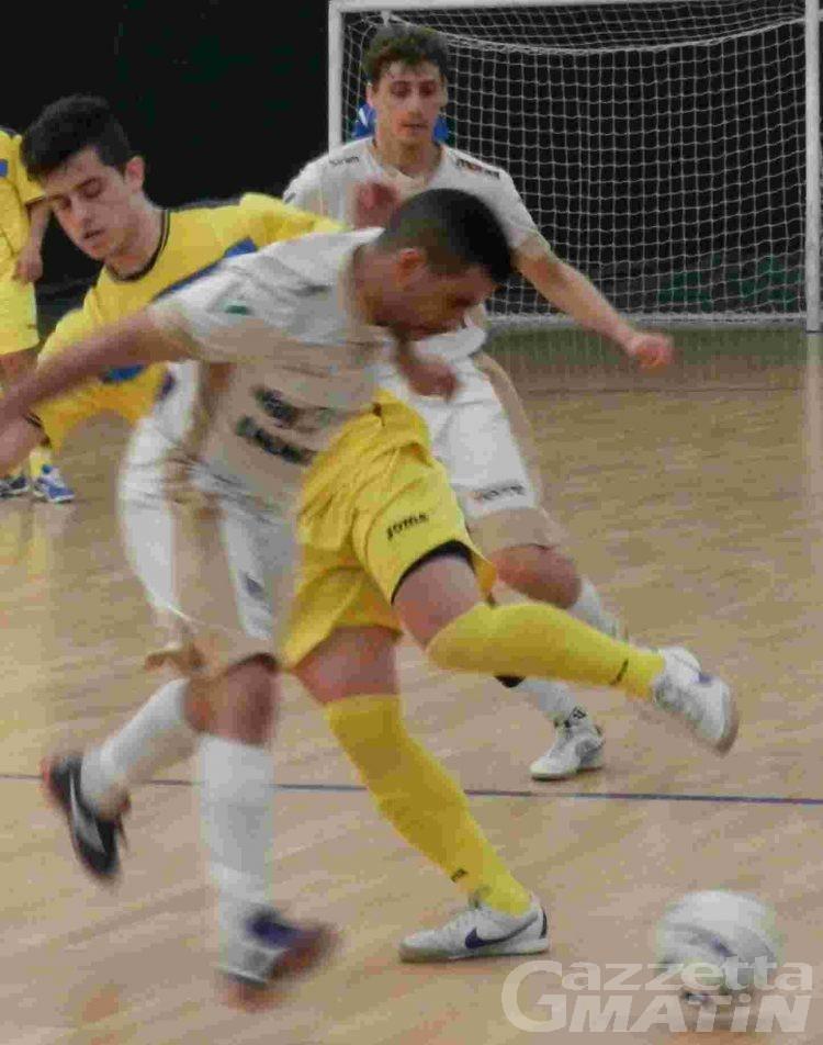 Calcio a 5: l'Aosta Pollein batte il Villorba