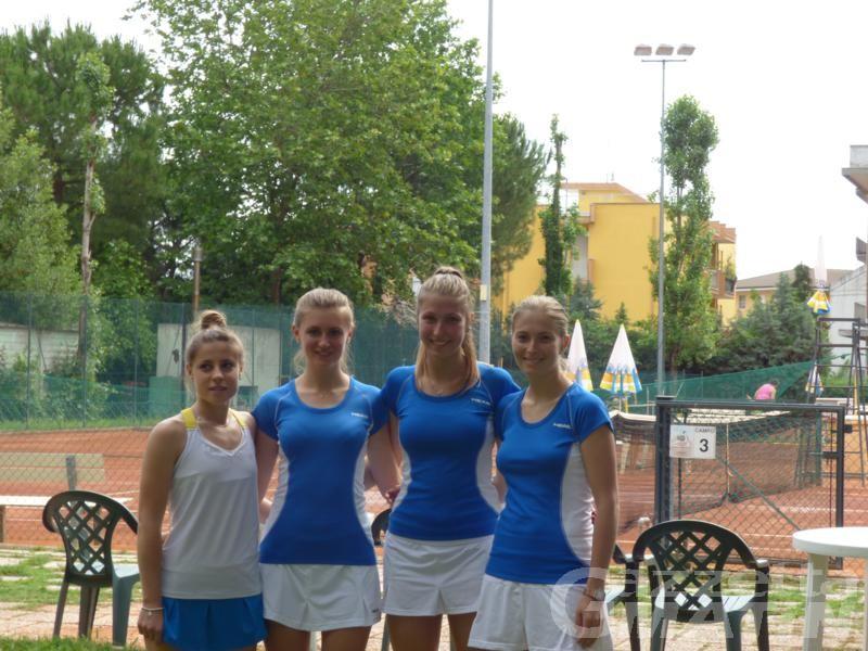 Tennis: lo Châtillon St-Vincent retrocede in C