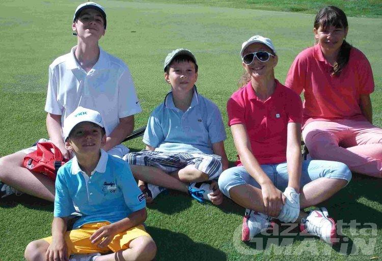 Golf: i corsi per bambini a Brissogne