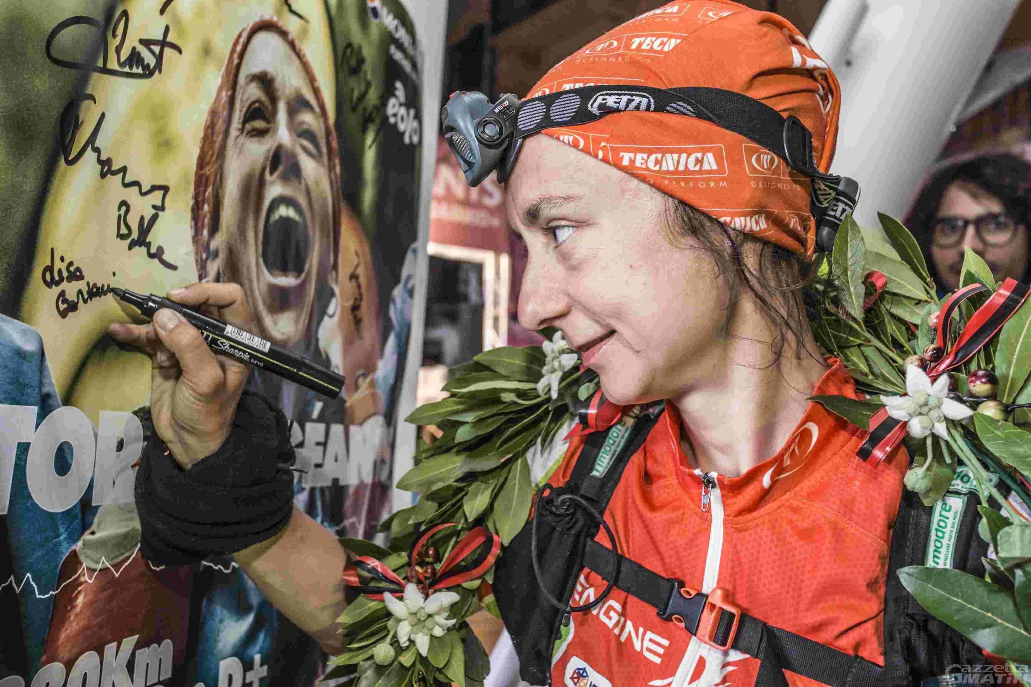 Tor des Géants: Lisa Borzani vince al femminile