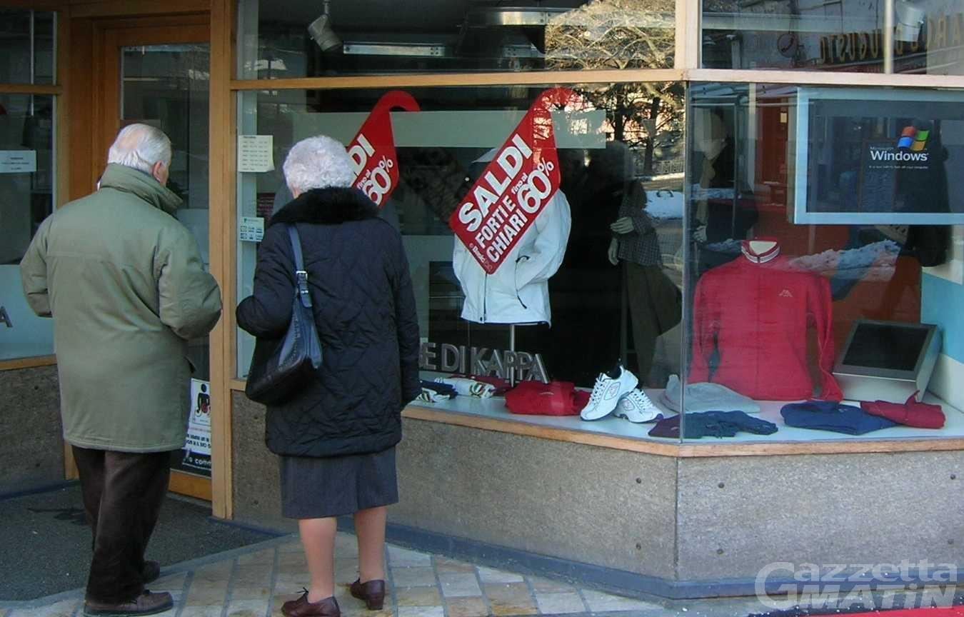 Saldi, Valle d'Aosta: nessun rinvio, partenza il 2 gennaio