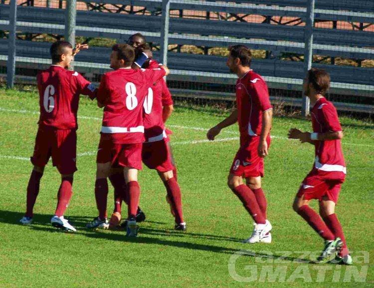 Calcio: in Coppa il VdA inchioda la Pro Patria sull'1-1