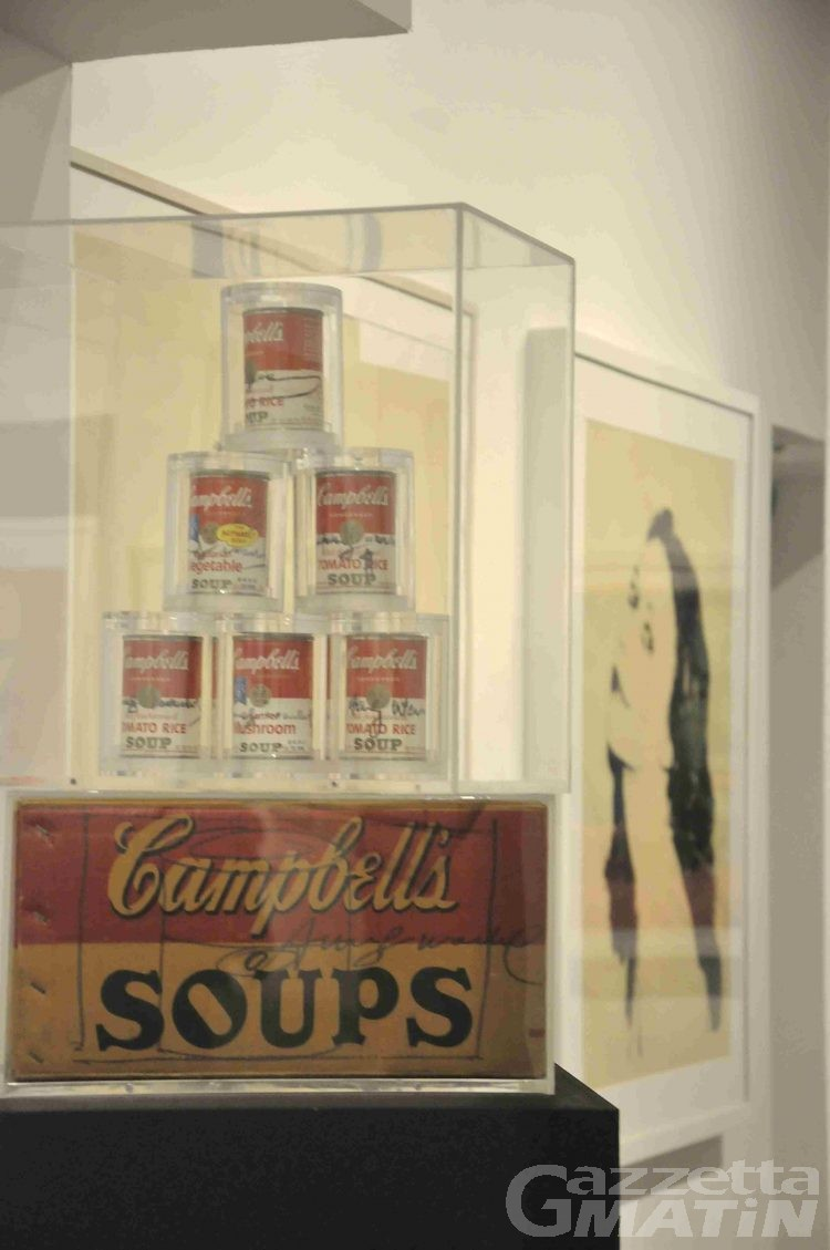 Warhol: il genio della pop art al Centre Saint Bénin