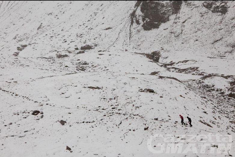 Tor des Géants: il ghiaccio ferma la gara, nuovo arrivo a Bosses