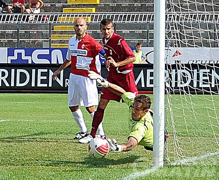 Calcio: il VdA fa bella figura con la Juve