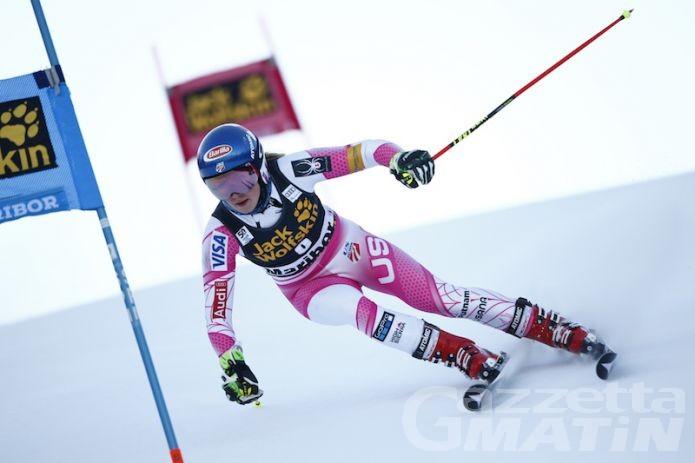Sci alpino: Brignone fuori nel gigante di Maribor