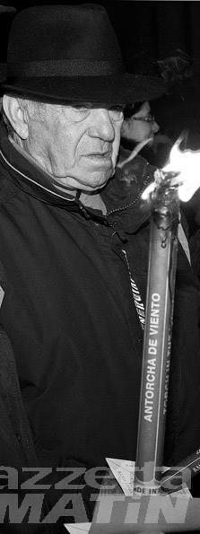 Donnas: oggi, lunedì, l'ultimo saluto a Massimo Bardini