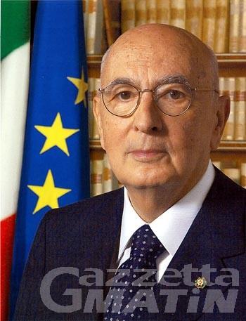 Giorgio Napolitano, in Valle una visita discreta