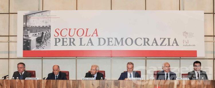 Scuola democrazia: Andrea Rosset invita giovani amministratori a essere concreti