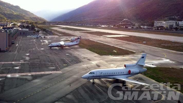 Trasporto aereo, voli da Aosta per Roma e Lamezia Terme