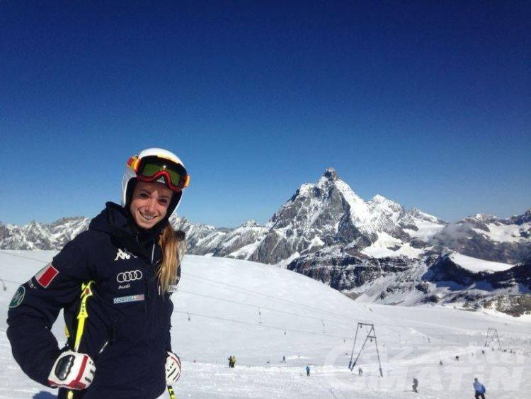 Sci alpino: le discesiste azzurre a Plateau Rosa