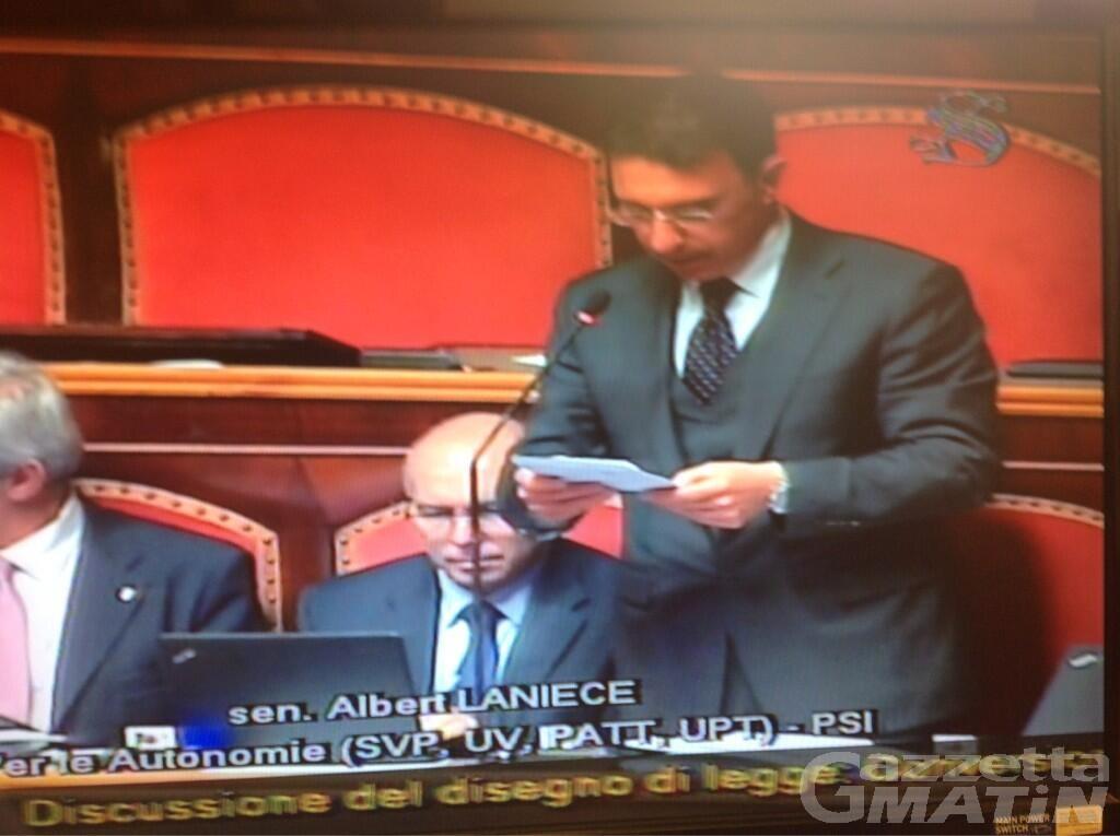 Crisi di governo, perché il senatore Lanièce (UV) voterà sfiducia a Conte
