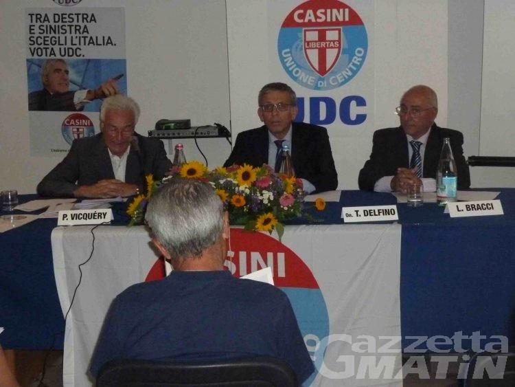 Udc, Piero Vicquéry confermato segretario regionale