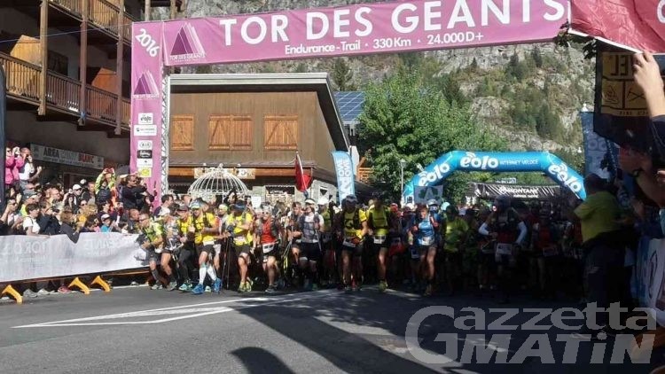 Tor des Géants: quasi 800 atleti al via