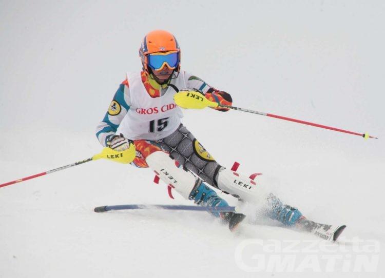 Sci alpino: i valdostani ai tricolori Allievi e Ragazzi