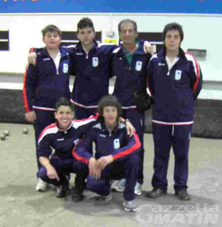 Bocce: l'Helvetia alle finale nazionale Under 18