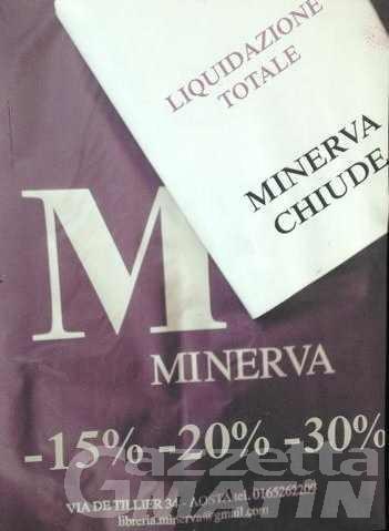 Chiude la storica libreria Minerva