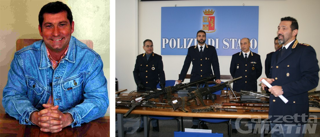 Arsenale di armi da guerra in garage: arrestato il vice sindaco di Champdepraz