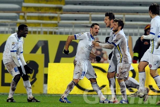Calcio: a Novara Sergio Pellissier fa cento con il Chievo