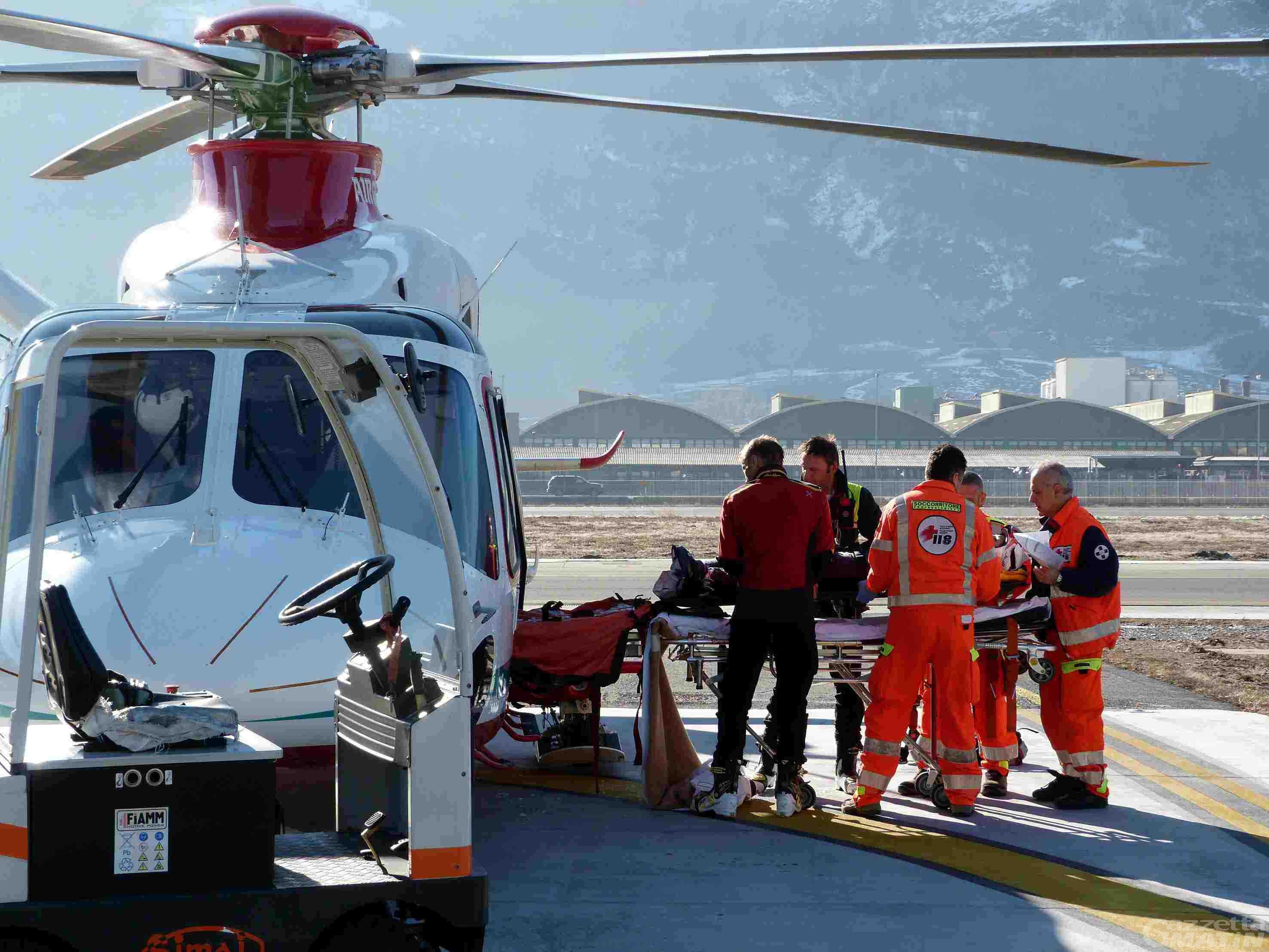 Pila: salvato sulle piste grazie al defibrillatore semi automatico