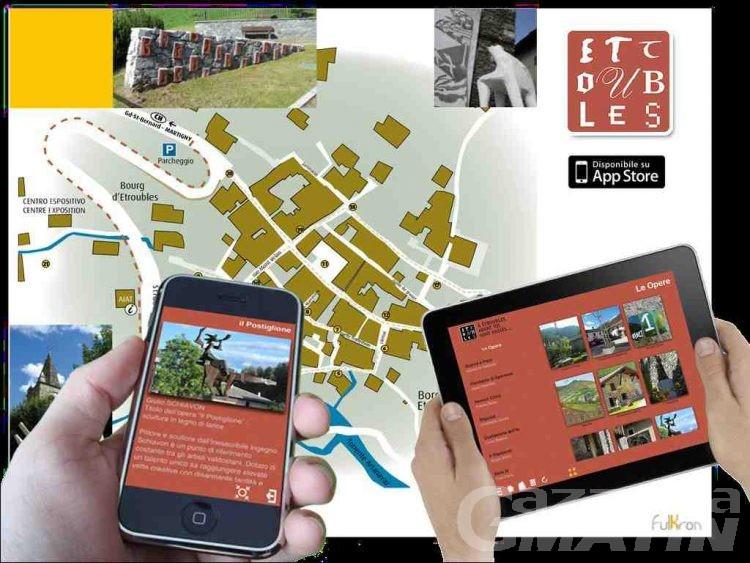 Etroubles si visita con un App