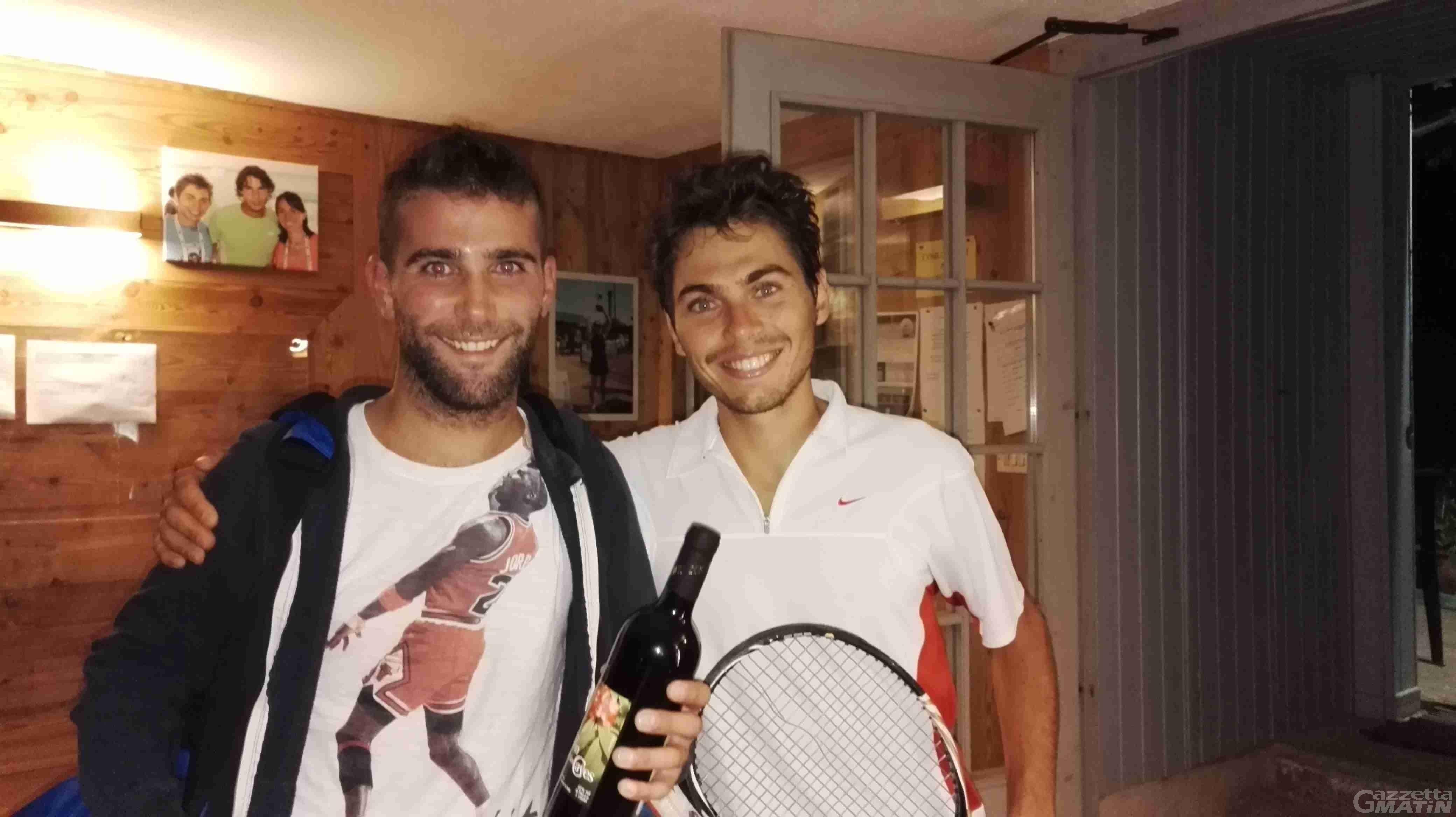 Tennis: Matthieu Viérin trionfa a Sarre