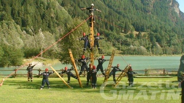 Valtournenche, costituito il gruppo di giovani vigili volontari